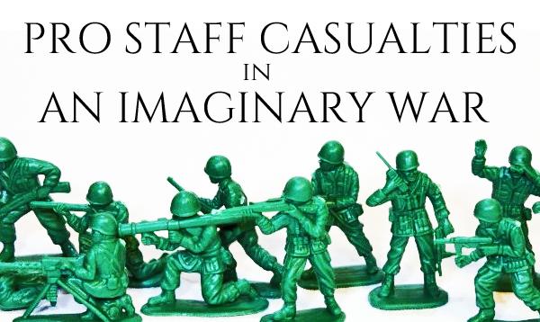 Pro Staff Casualties in an Imaginary War