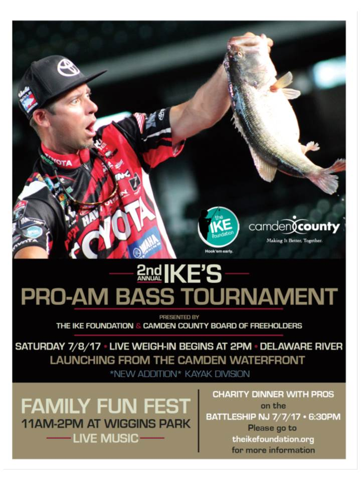 Kayak Division Added to Ike Celebrity Pro-Am Tourney