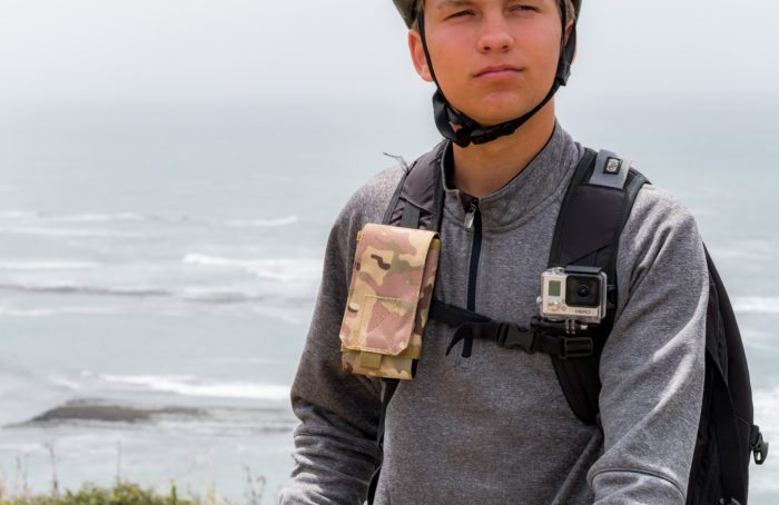 StrapPackPouches for Phones, Water Bottle and More