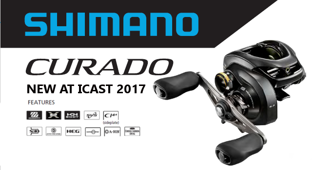 Shimano Curado K Debuts at ICAST 2017 with Same Price Point