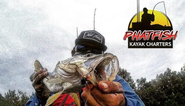 Derick Burgos of Phatfish on Kayak Fishing Tampa Bay