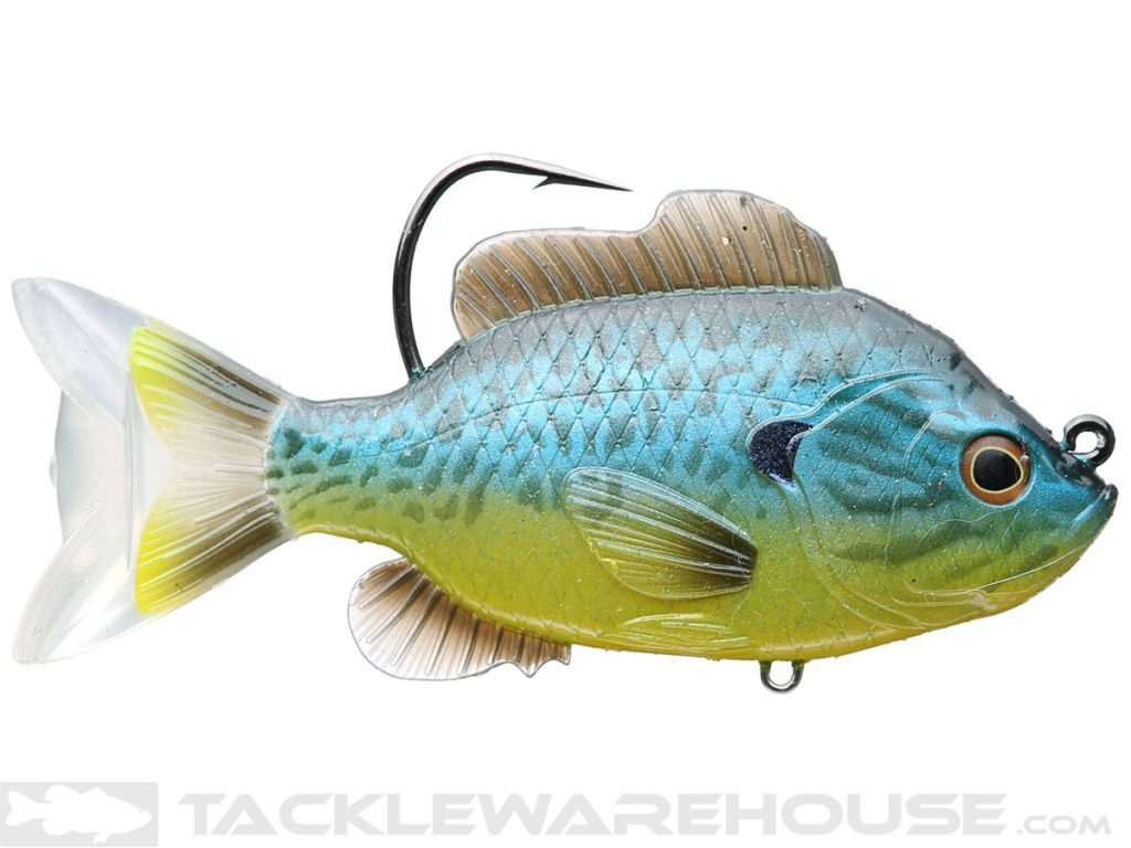 LIVETARGET Sunfish Swimbait Fishing Lures