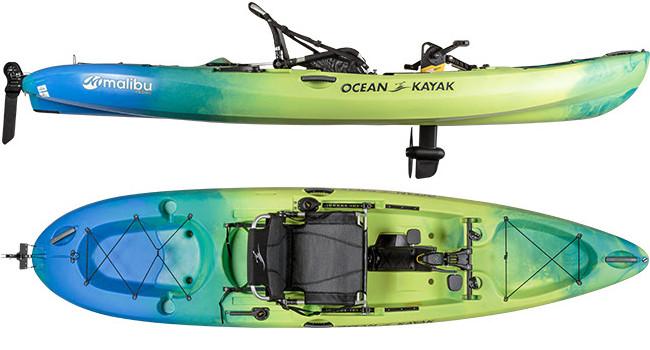 Ocean Kayak Malibu Pedal Kayak Announced