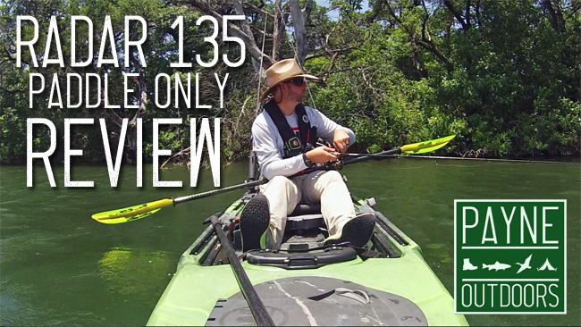 Kayak Review: Radar 135 (Paddle Only) from Wilderness Systems