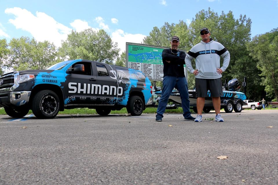 Curado Bass Slam Challenge - Keith Combs, Kurt Mazurek - The Journey Begins - photo 1