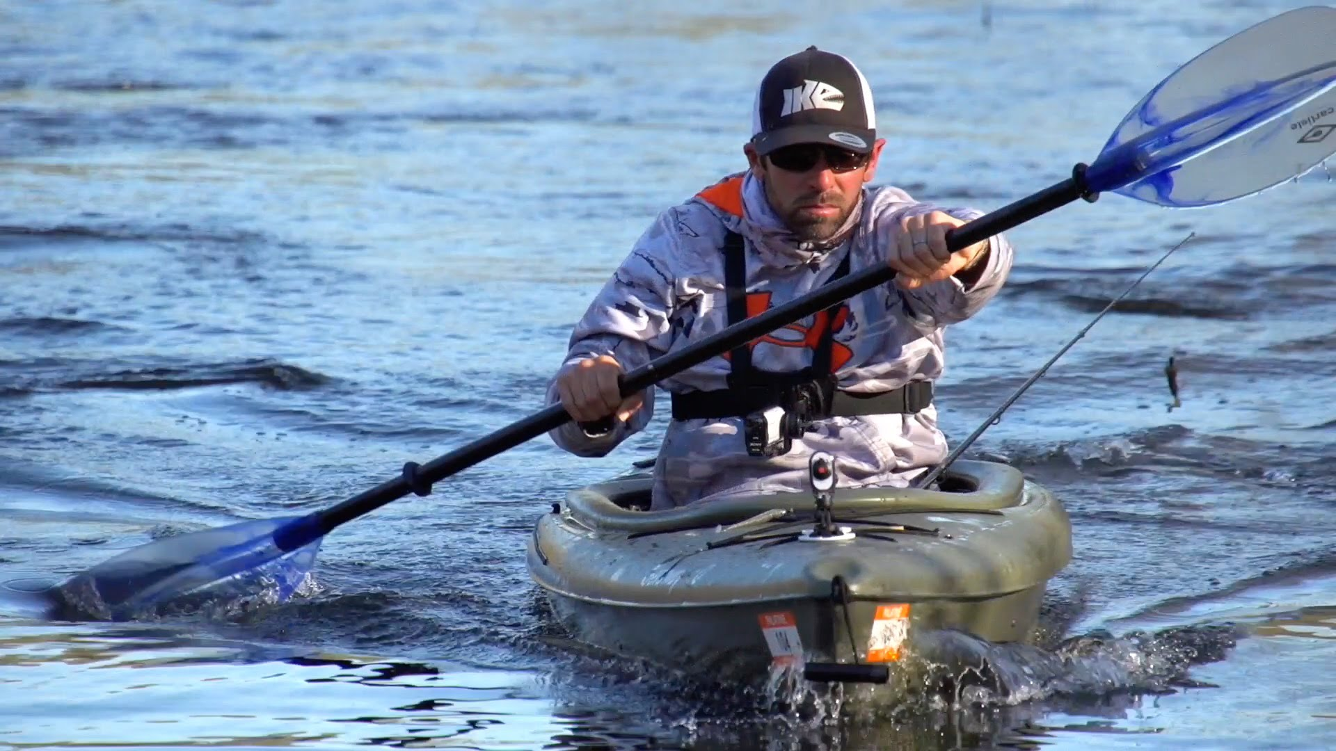 tips for kayak fishing digger iaconelli