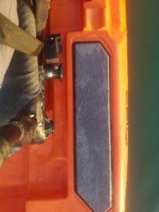 Bonafide SS127 Kayak Deck Layout