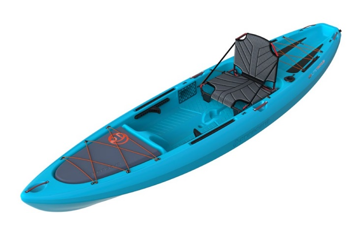 Crescent Kayaks LT Light Tackle Quarter Shot Payne Outdoors