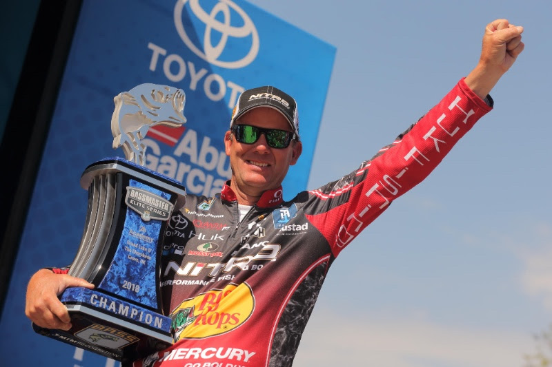 VanDam Dominates Grand Lake To Win 25th Bassmaster Championship