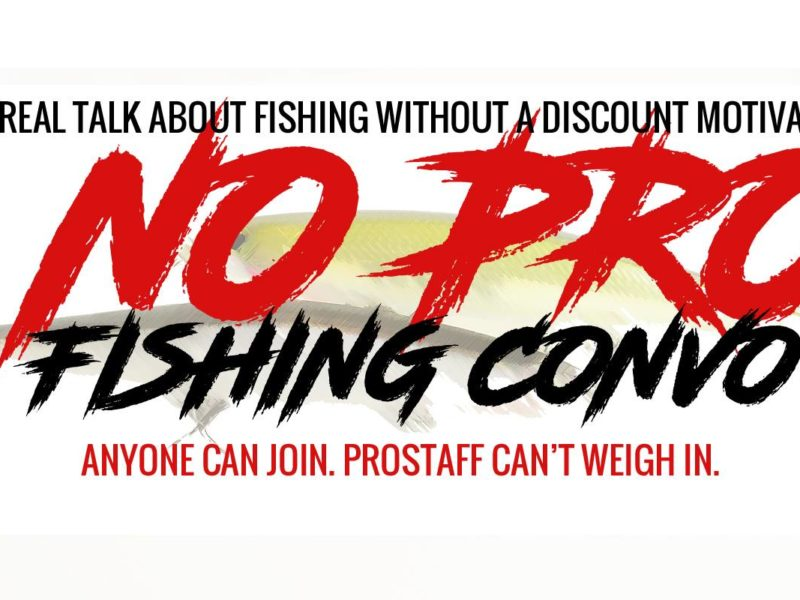 No Pro Fishing Convo Facebook Group