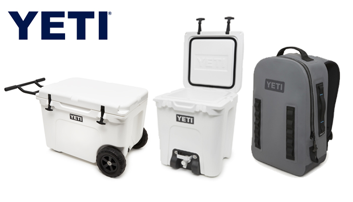 NEW: YETI Tundra Haul, Silo 6G, Submersible Panga Backpack