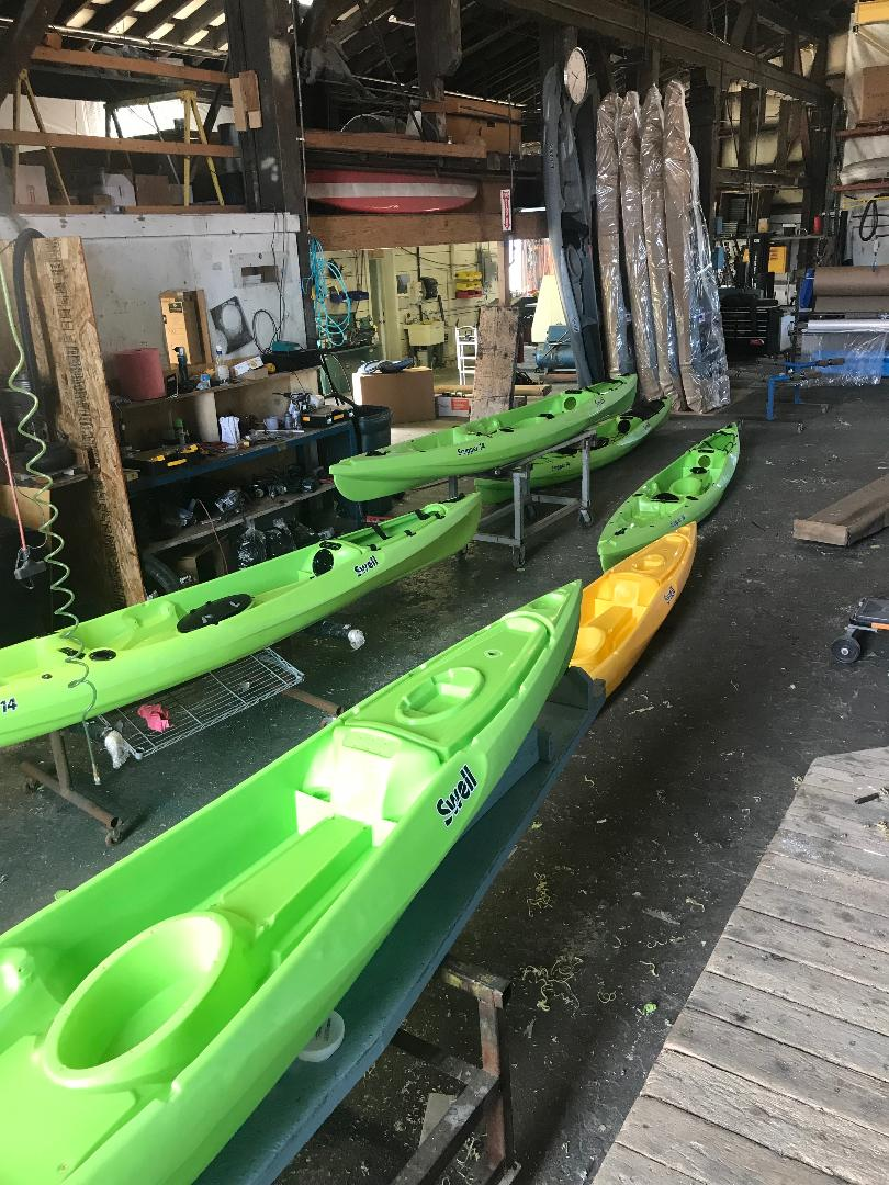 New Swell Watercraft Scupper 14 Kayak Now in Production