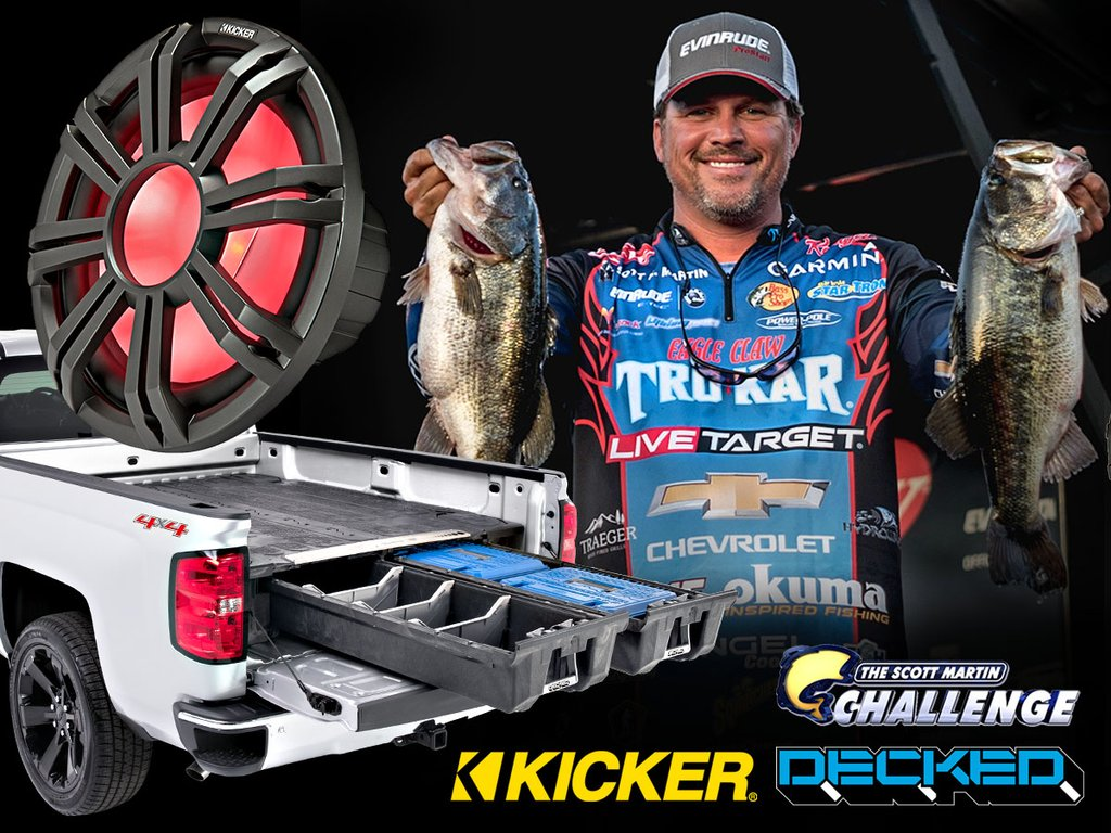 DECKED : Ultimate Day On The Water With Scott Martin Contest