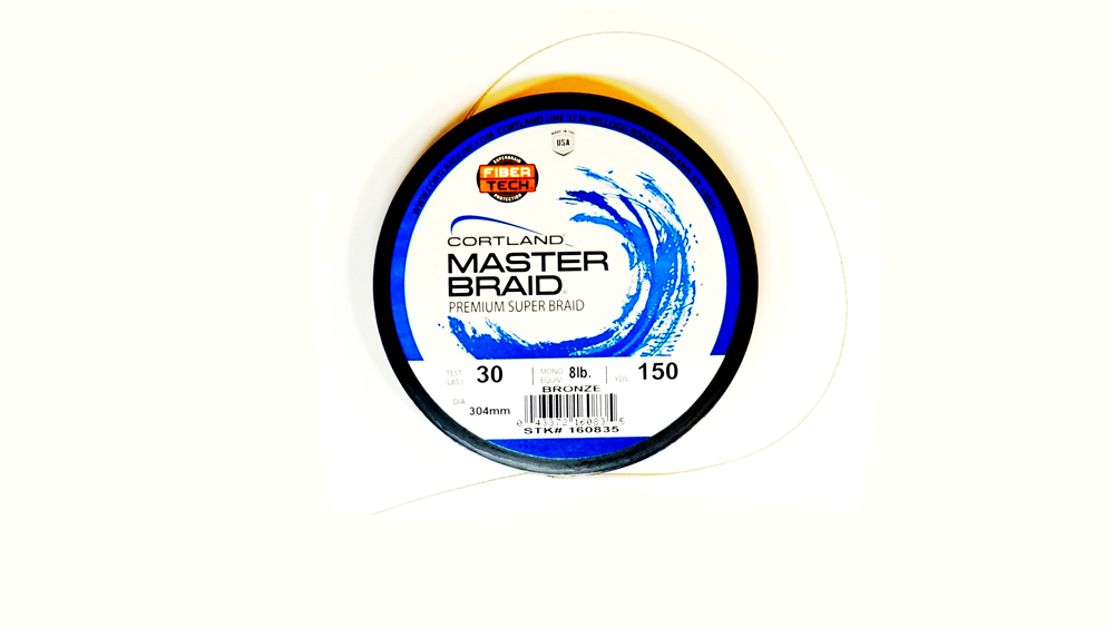Cortland master braid fishing