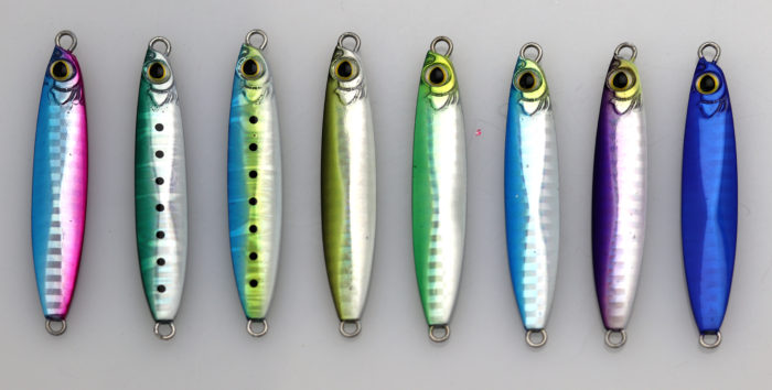 Shimano Saltwater Coltsniper Jigs - Colors