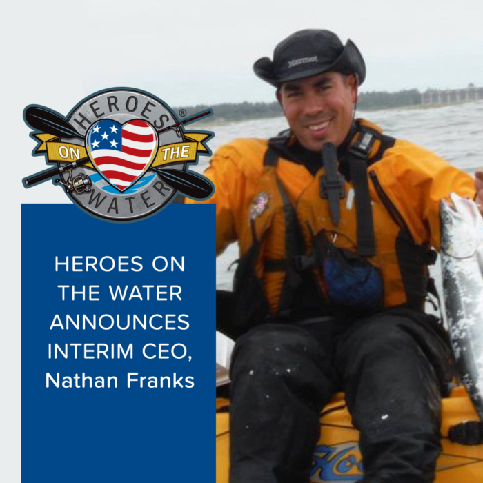 Heroes on the Water Names Interim CEO Franks