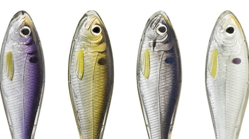 New: LIVETARGET Skip Shad with Injected Core Technology