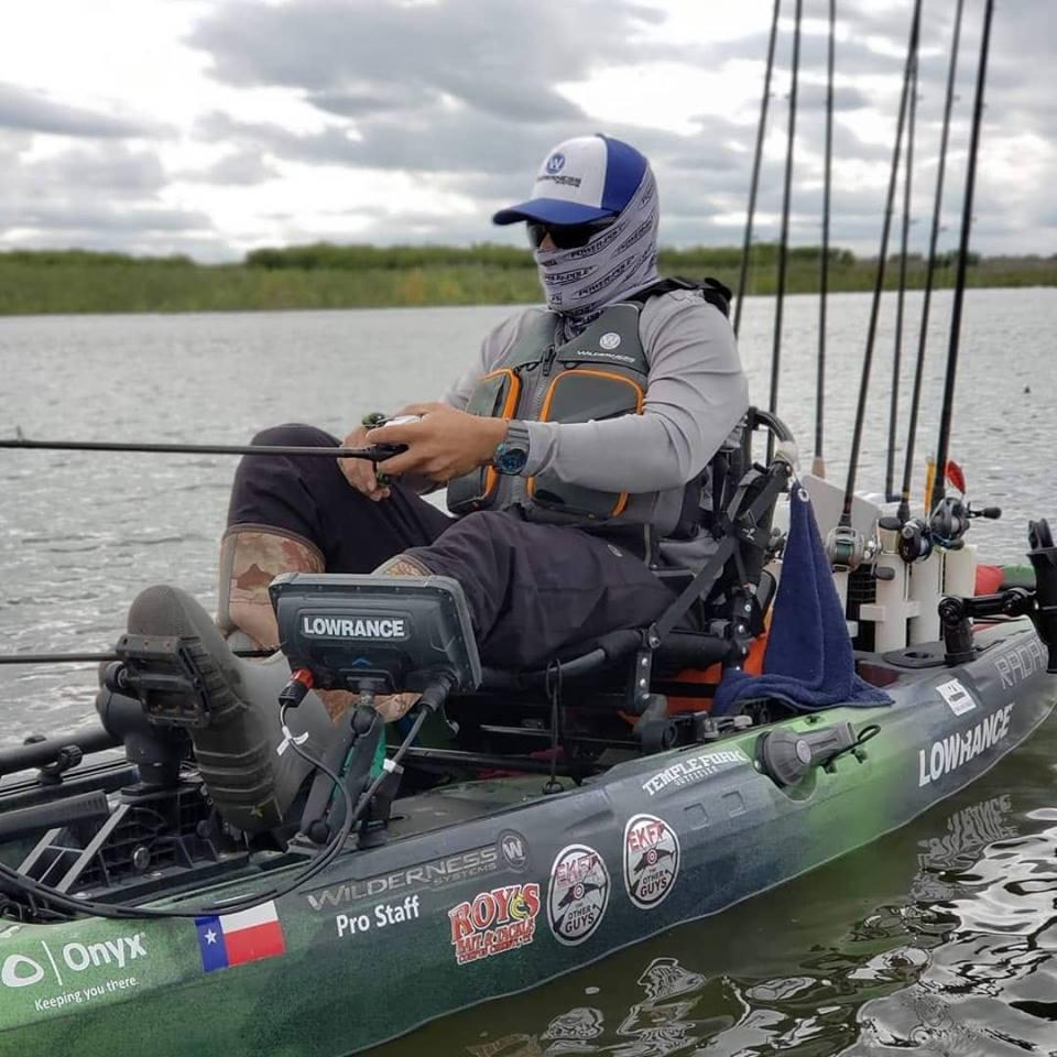 Eugene Mora Radar Kayak stability standability