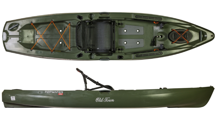 Old Town Topwater 120 Most Popular Kayaks Under $1000