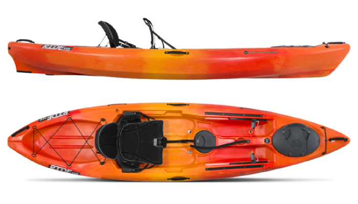 Wilderness Systems Ride 115 Most Popular Kayaks Under $1000