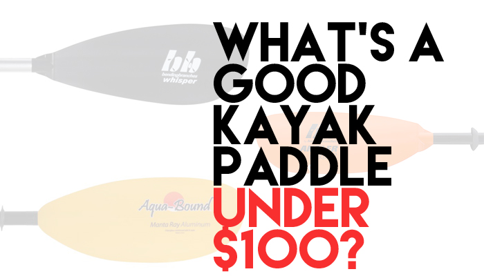 What's a Good Kayak Paddle Under $100