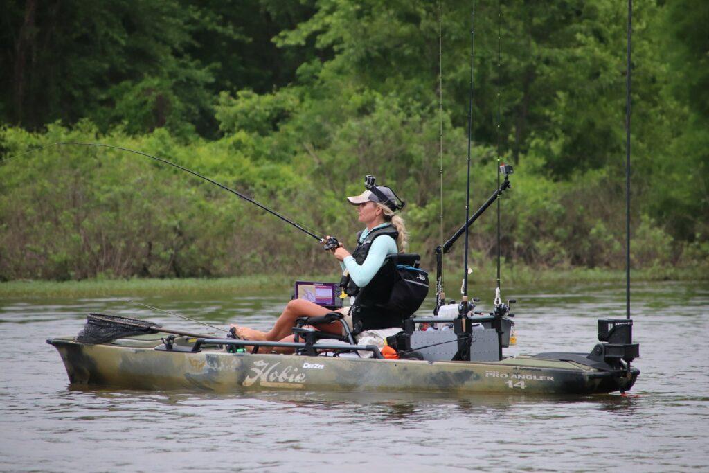 Hobie Bass Open Series Kristine Fischer Payne Outdoors